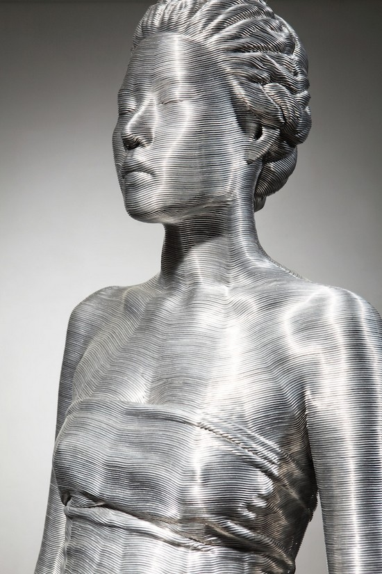 фото, креатив, необычные скульптуры из проволоки (8)