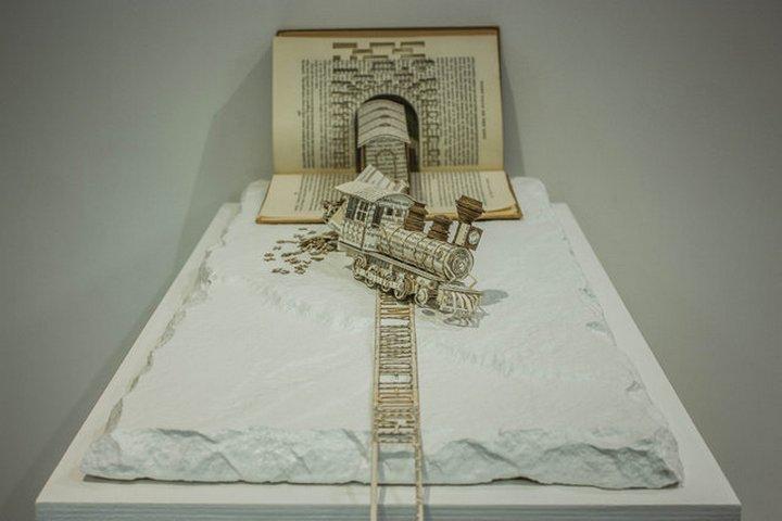 фото, креатив, скульптуры из бумаги (1)