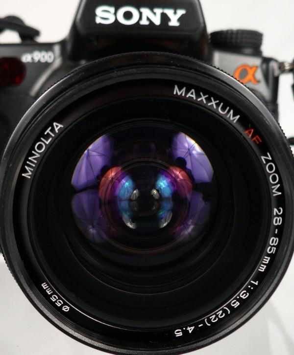 Эксперимент с фотообъективом (1)