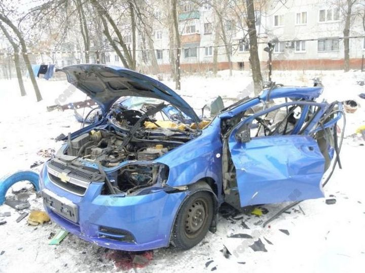 фото, авто, взрыв баллона с метаном (3)