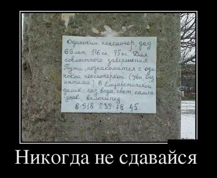 Демотиваторы. (5)