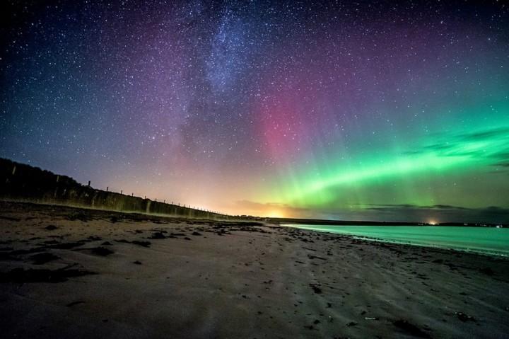 фото, природа, красивые фото природы, фотопейзажи, северное сияние (1)