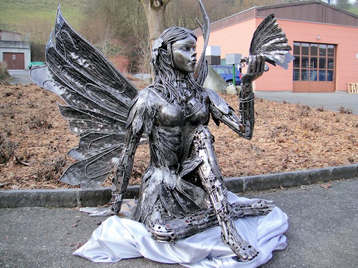 фото, креатив, скульптуры из металлолома (1)