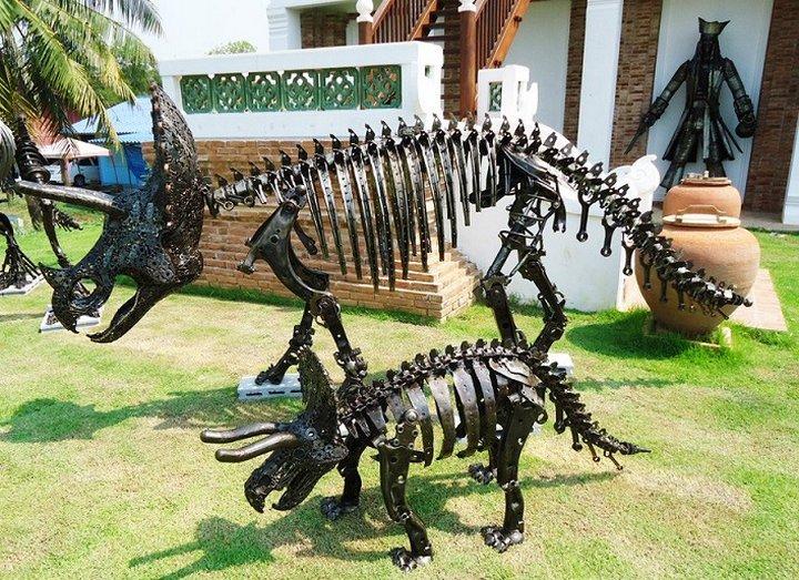 фото, креатив, скульптуры из металлолома (4)