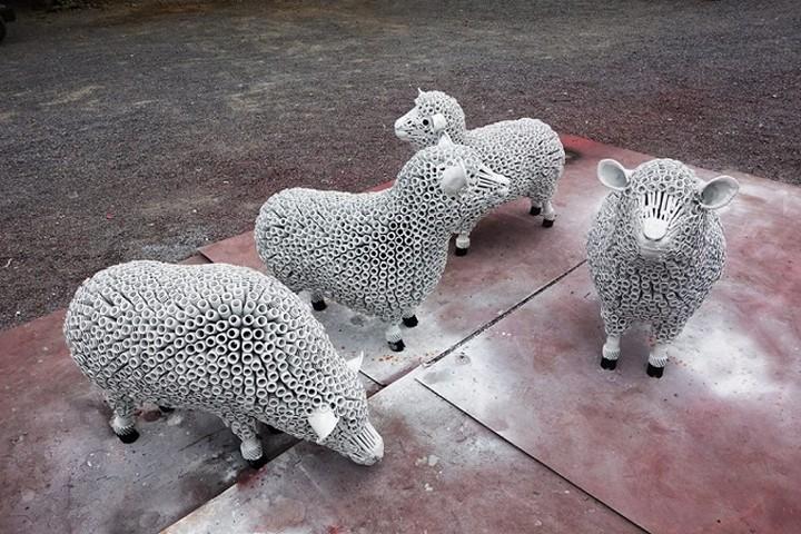 фото, креатив, скульптуры из металлолома (17)