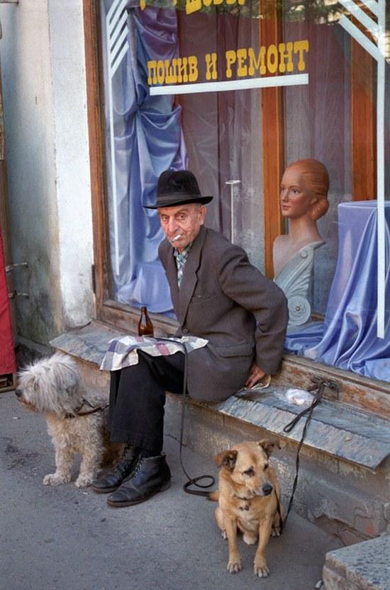 ностальгия, ретро фото, города, люди (36)