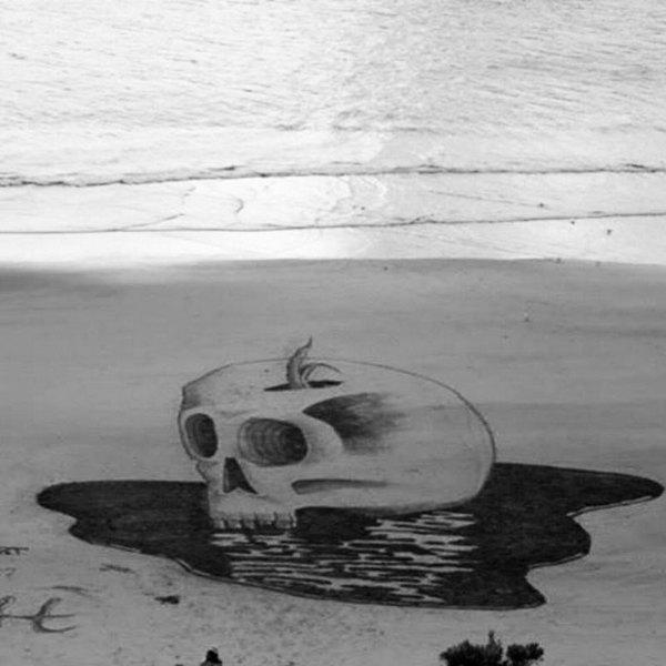 Креатив, 3D-рисунки на песке (5)