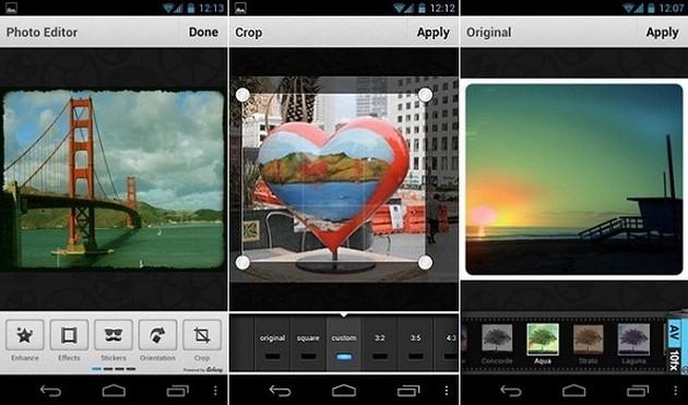 Обработка фотографий на Андроид