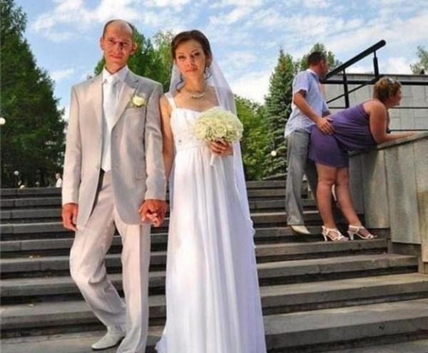 Какие фото не надо делать на свадьбах (7)
