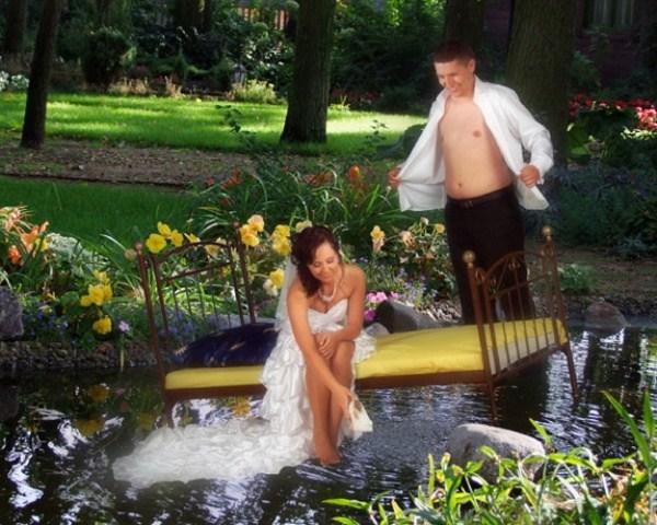 Какие фото не надо делать на свадьбах (10)