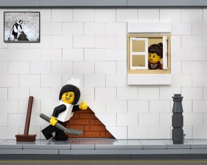 креатив, поделки из Lego, необычное (1)