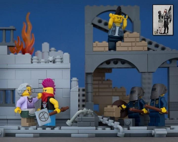 креатив, поделки из Lego, необычное (4)