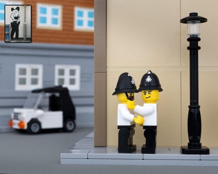 креатив, поделки из Lego, необычное (7)