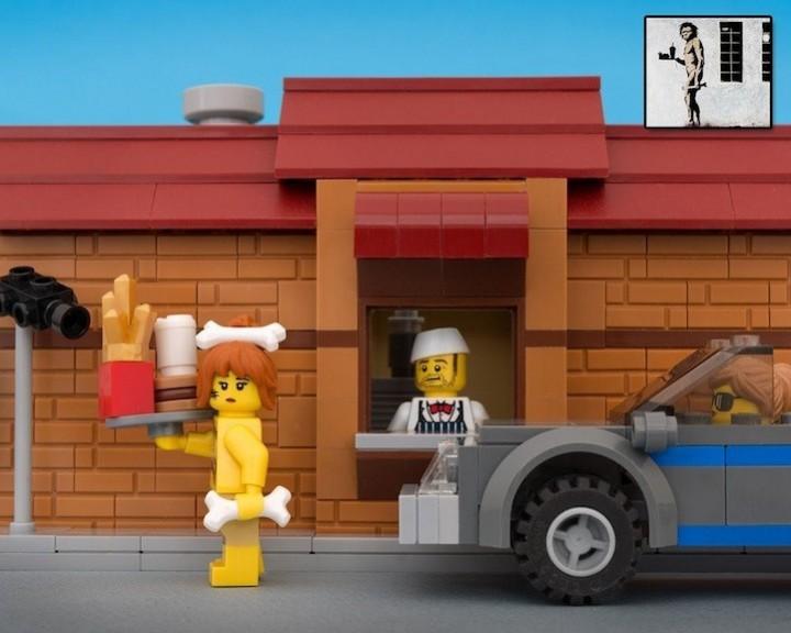 креатив, поделки из Lego, необычное (8)