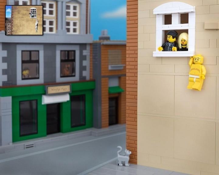 креатив, поделки из Lego, необычное (10)