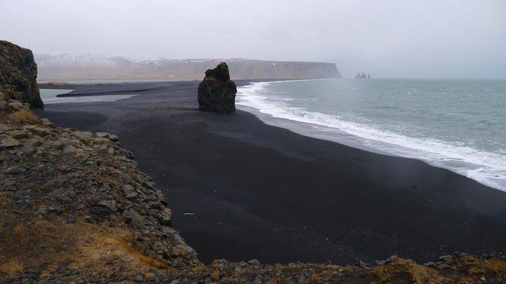 Черный пляж в Исландии (2)