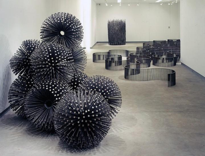 необычные скульптуры из гвоздей (13)