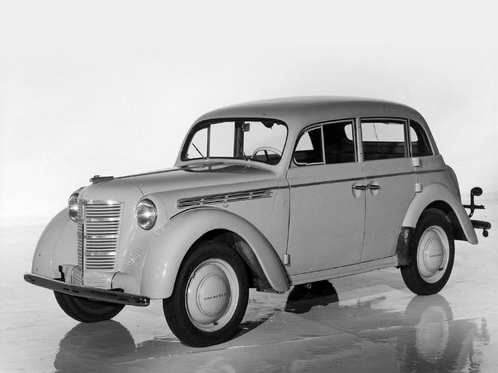 Автомобили СССР. Москвич - 400, (10)