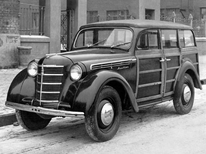 Автомобили СССР. Москвич - 400, (4)