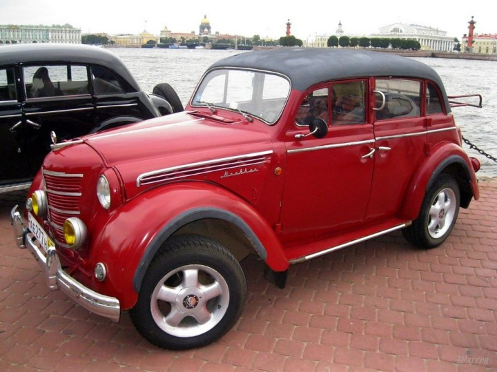Автомобили СССР. Москвич - 400, (3)