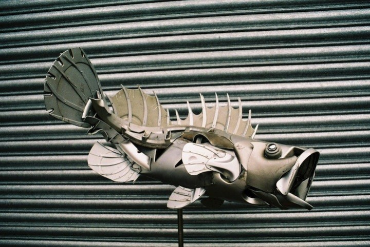 необычные скульптуры из металлома (11)