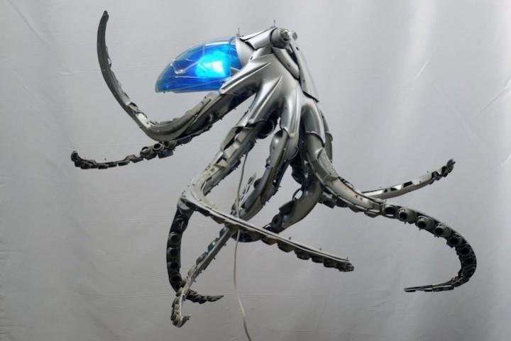необычные скульптуры из металлома (7)