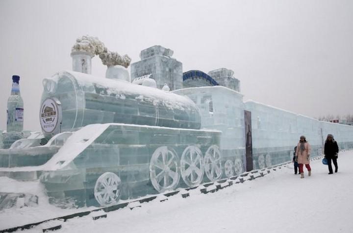 скульптуры из снега и льда (1)