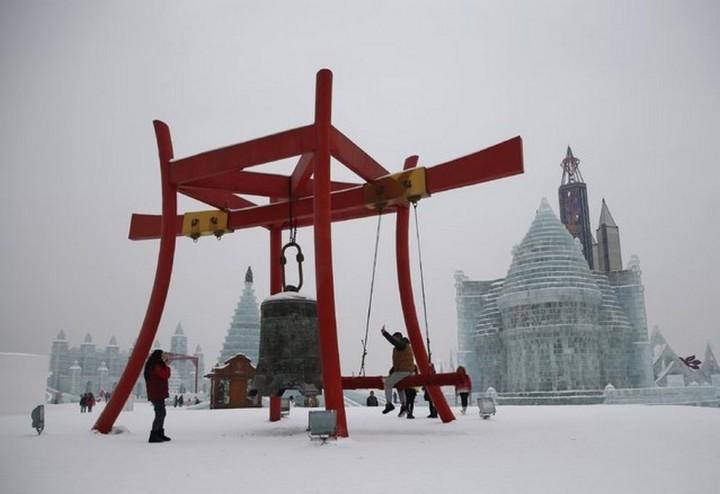 скульптуры из снега и льда (2)