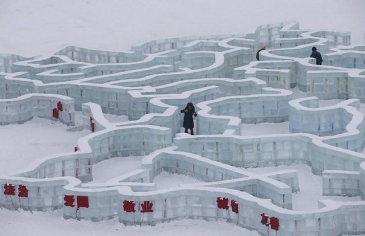 скульптуры из снега и льда (3)
