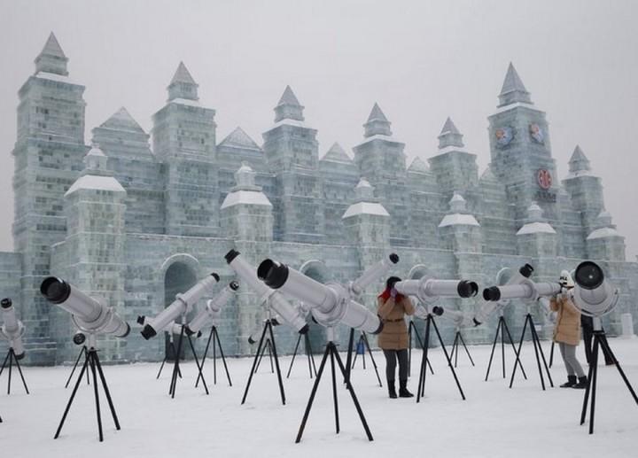 скульптуры из снега и льда (5)