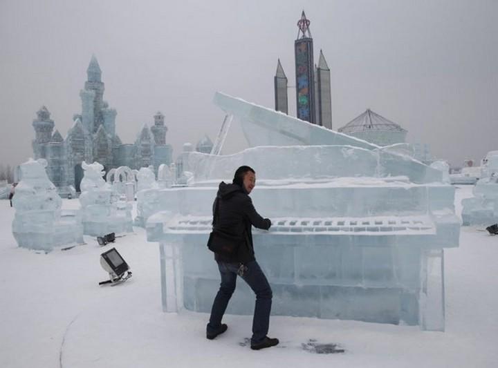 скульптуры из снега и льда (7)