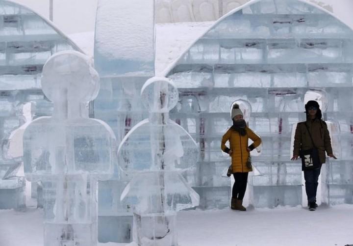 скульптуры из снега и льда (8)