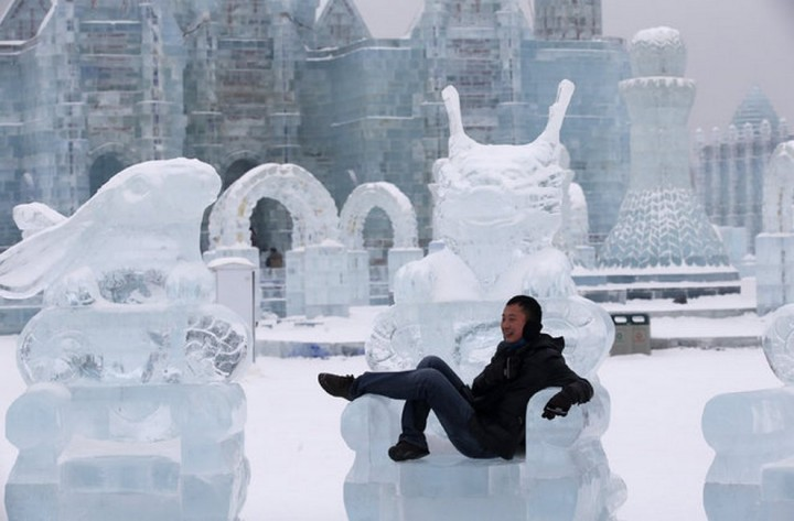 скульптуры из снега и льда (9)