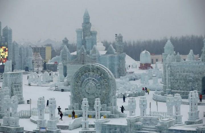 скульптуры из снега и льда (10)