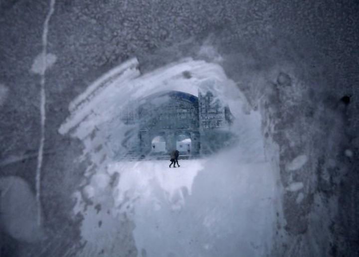 скульптуры из снега и льда (21)