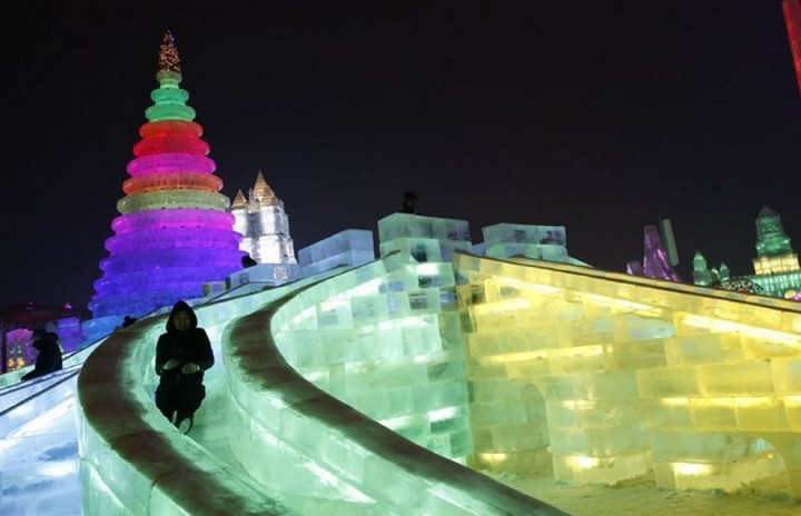 скульптуры из снега и льда (15)
