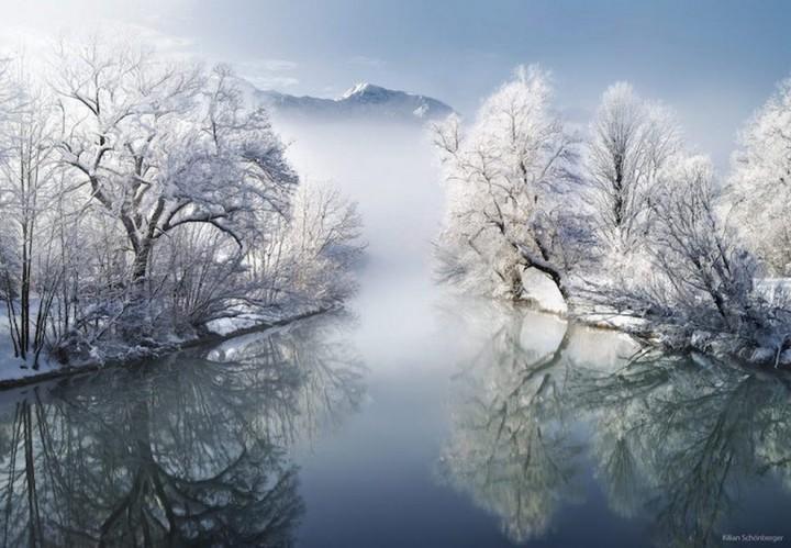 природа, красивые фото природы, фотопейзажи, зима (11)