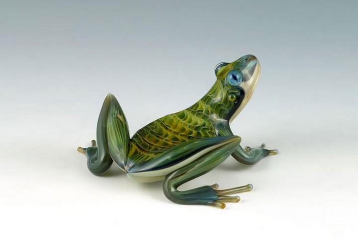 креатив, необычное, скульптуры из стекла (1)