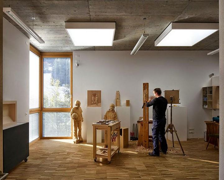 креатив, необычное, скульптуры из дерева (1)