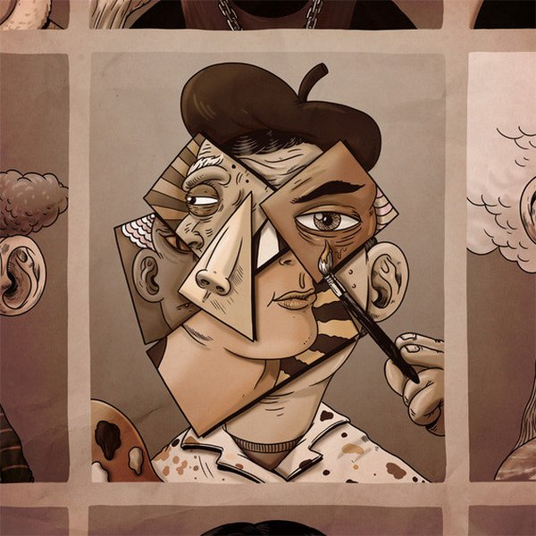 креатив, прикольные иллюстрации (2)