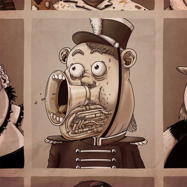 креатив, прикольные иллюстрации (1)