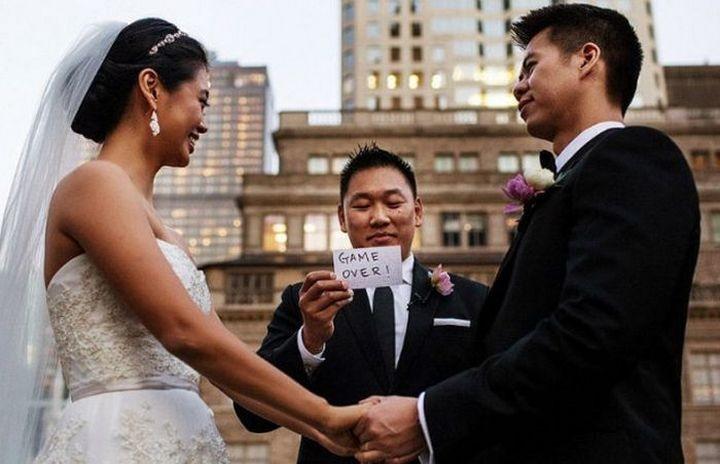 Прикольные фото, свадьбы (10)