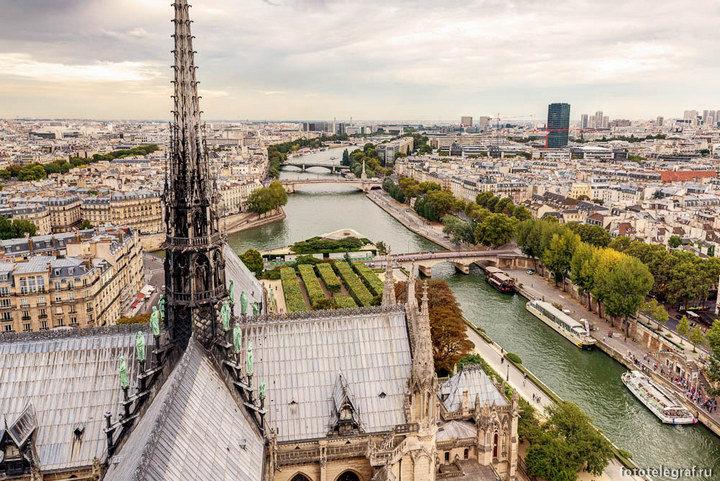 Лучшие смотровые площадки Парижа с захватывающим видом на город (2)