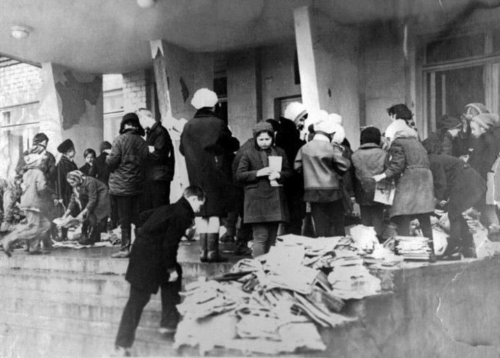 Сбор макулатуры в СССР. Как это было (6)