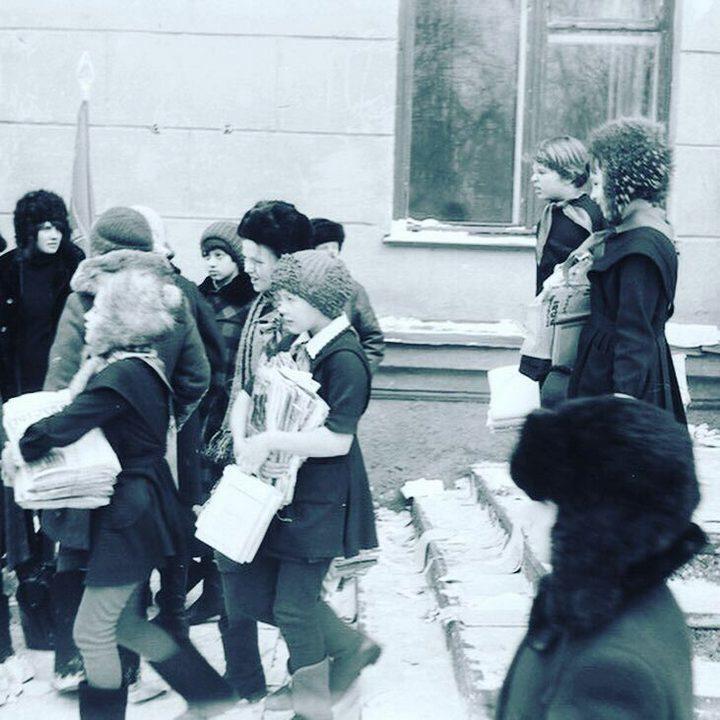 Сбор макулатуры в СССР. Как это было (7)