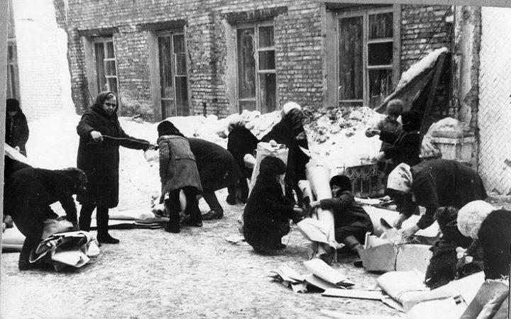Сбор макулатуры в СССР. Как это было (8)