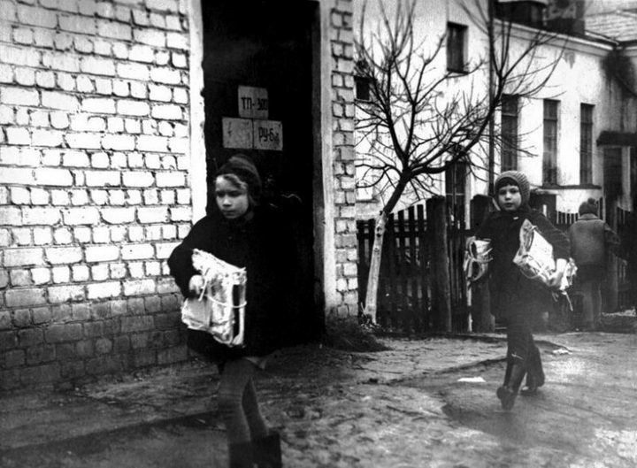 Сбор макулатуры в СССР. Как это было (9)