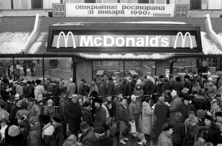 McDonald's открыл свой первый маркет в России 30 лет назад (1)