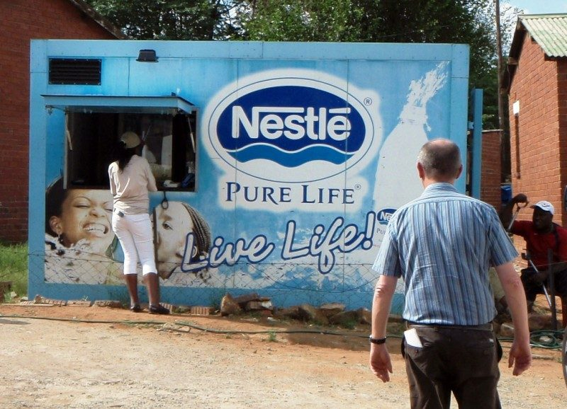 Про маркетинговую стратегию Nestle в Африке