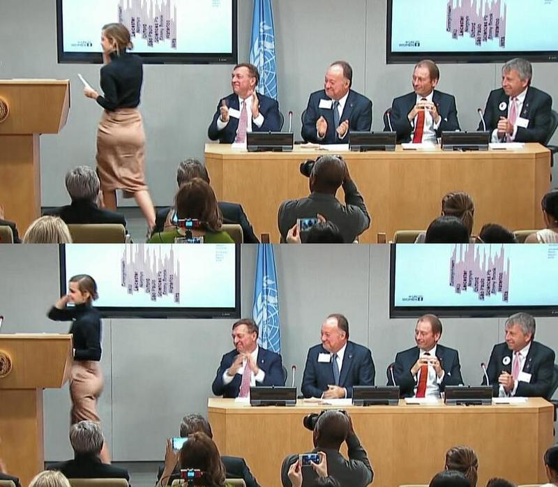 Выступление Эммы Уотсон на встрече ООН